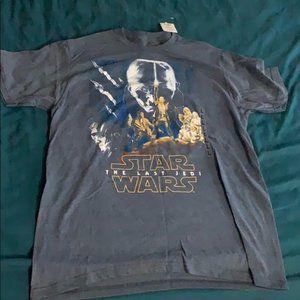 Star Wars The Last Jedi T-Shirt Large